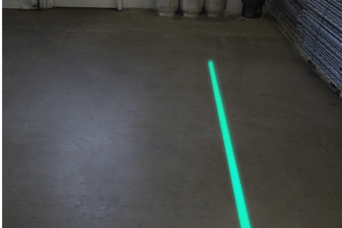 Signcast Laser Virtual Line Your Safty Zone