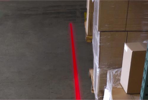 Virtual Line Floor Marking Your Safty Zone